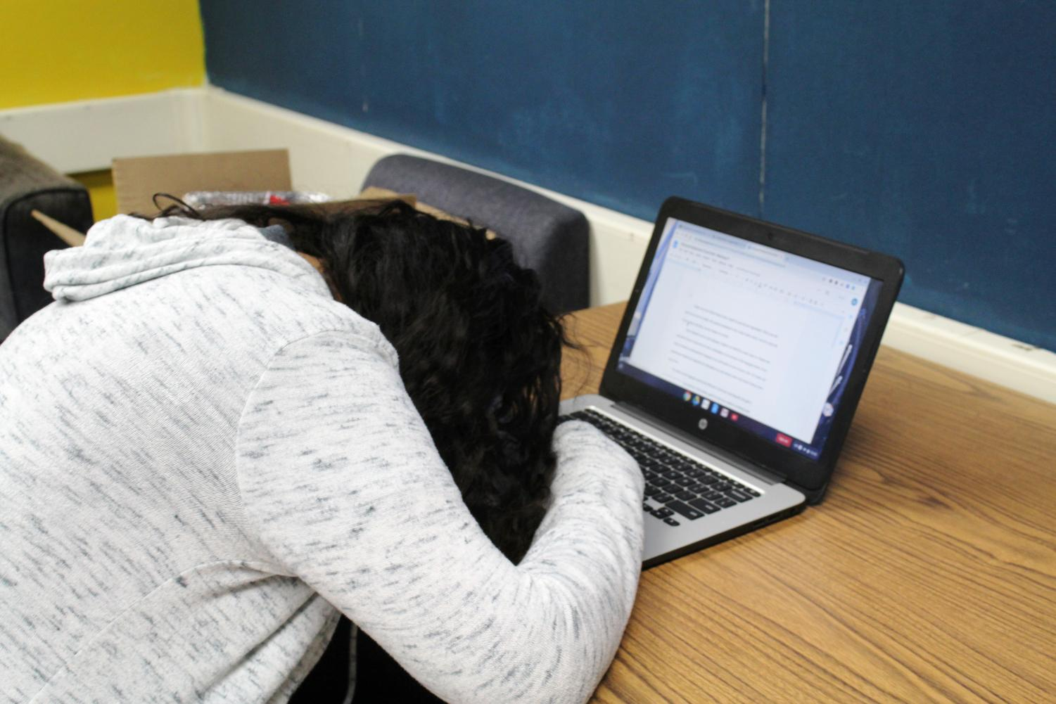 Some students don't take their responsibility seriously when it comes to managing their time with Chromebooks.
