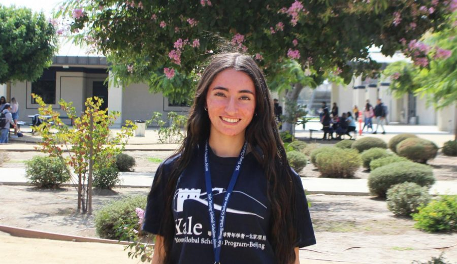 Student at South Spreads her Wings to New Horizons