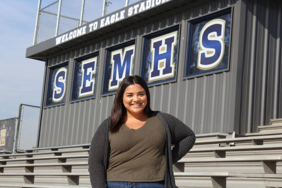 Senior Victoria Andrade, wants to make the most of her senior year