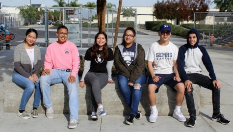 South El Monte students gave their advice on how to destress themselves.