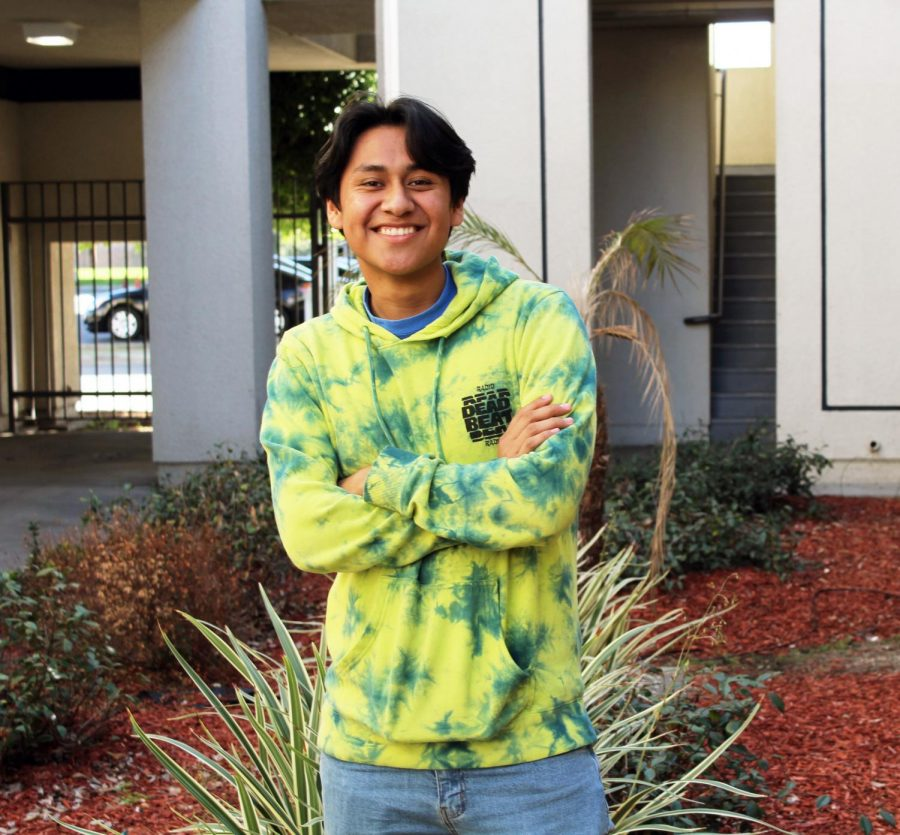 Santiago Alvillar is determined to conquer life at Stanford next year.