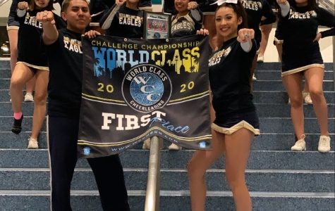 The South El Monte representatives of the World Class Cheer Champions