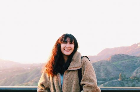Olivia Guerrero, Senior, keeping composure while being a YouTuber in High School.