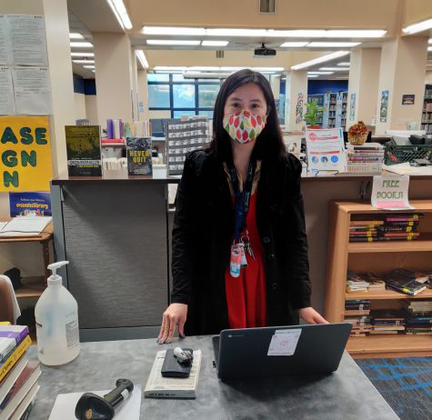 Ms. Chan, The South El Monte Librarian.